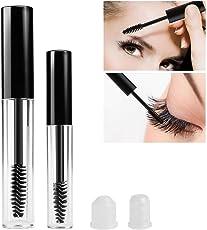 PIXNOR 2pcs Empty Eyelashes Tube Eyelash Cream Bottle Mascara Tube Container for Mascara Castor Oil DIY