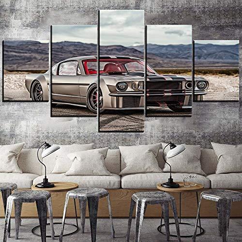 Mmwin Wall Art Canvas Painting Decor d HD Print Modular