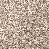 """Handmuster zu Teppichfliesen selbstliegend Velours Schatex Simply Soft """"2703 Beige"""" (20 Fliesen = 5 m²), Farbe: Beige, Größe: 50 x 50 cm"""