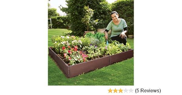 Hochbeet Flexi Stapel Und Erweiterbar Amazon De Garten