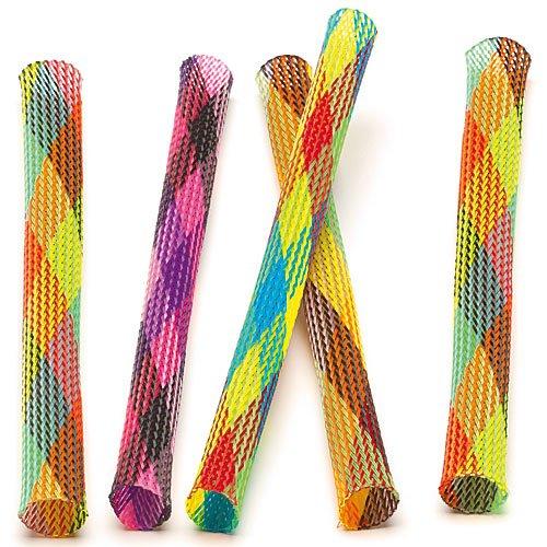 Hüpfröhren - Spielzeug für Kinder - als Preis oder Spiel beim Kindergeburtstag (8 Stück)