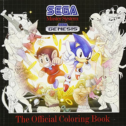 SEGA: The Official Coloring Book (Arcade-spiel Aliens)