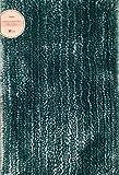 RT Designer Collection Chenille Badteppich, Blaugrün, 50,8x 76,2cm