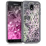 kwmobile Samsung Galaxy J5 (2017) DUOS Hülle - Handyhülle für Samsung Galaxy J5 (2017) DUOS - Handy Case in Rosa Transparent