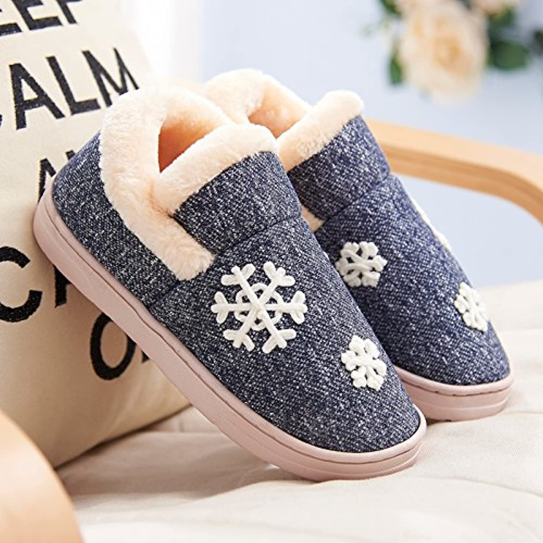 Y-Hui scarpe da uomo in inverno caldo interno antiscivolo spessore inferiore cotone pantofole pantofole amanti... | Fashionable  | Gentiluomo/Signora Scarpa