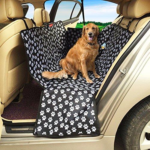 MATCC Hundedecke Auto Hunde Autodecke Auto Hundedecke Autoschondecke Für Hunde Wasserdicht Hundeschutzdecke Auto Rücksitz Hunde Autoschondecke Mit Seitenschutz Kofferraumschutz Hunde (130*150*55cm)
