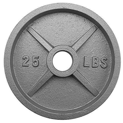 Crown Sporting Goods 2Olympischen Stil Eisen Gewicht Teller (Cap Hantel Gewicht Set)