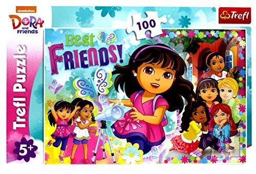 Puzzle Dora Przygoda czeka 100
