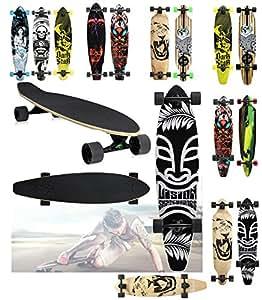 eMarkooz Kids ,beginners and advanced Skateboard (Jungle)