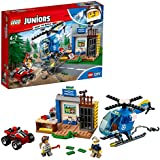 LEGO Juniors Mountain Police Chase Building Blocks for Kids 4 to 7 Years (115 pcs) 10751
