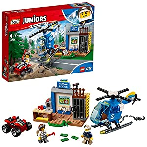 LEGO- Juniors Inseguimento della Polizia di Montagna, Multicolore, 10751 LEGO