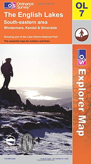 The English Lakes South Eastern Area OS Explorer Map Series