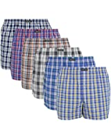 Lower East 6er Pack Herren American Boxershorts