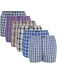 Lower East Homme American-Style Boxer-short, Lot de 6