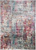 Luxor Living Vintageteppich Rossini in Verschiedenen Designs, Used-Look, Gewebter Teppich in Hoher Qualität, Pflegeleicht, Größe:80x150cm, Farbe:Bunt