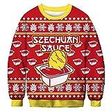 Leezeshaw Herren Sweatshirt Gr. Medium, Szechuan Sauce