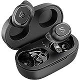 SoundPEATS Truefree 2 Auriculares inalámbricos Deportivos, Auriculares Bluetooth 5.0 con Caja de Carga IPX7 a Prueba de Agua
