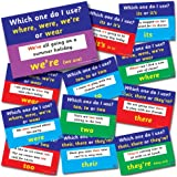 Primary Teaching Services CMP A4 Common English Grammar Mistakes Poster (Pack of 12)