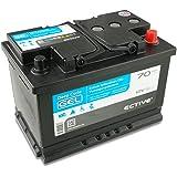 ECTIVE 70Ah 12V Gel Batterie EDC-Serie Versorgungsbatterie in 6 Varianten: 70-250Ah (wartungsfrei)