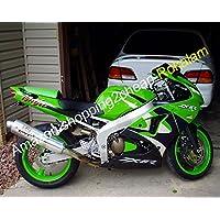 Hot Sales - Kit de carenado verde para Kawasaki NINJA 98 99 ZX6R ZX 6R 636