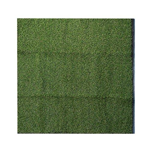 UEETEK Dog Mat Pad Césped artificial Césped Fake Grass Interior Paisaje exterior Pet Dog Area 1M x 1M