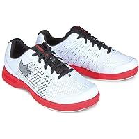 Brunswick - Mens Fuze Bowling Shoes- White/Red, Scarpe da Bowling da Uomo, Colore: Bianco/Rosso Uomo