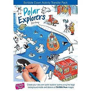 SCRIBBLE DOWN Garabatear - 47122 - calcomanía y decoración - Explorador Polar
