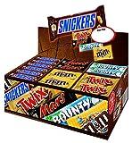 Mars Topsellerbox, 1 Packung mit 72 Riegeln (1 x 3,6 kg)
