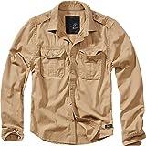 Brandit Vintage långärmad skjorta och kortärmad, storlekar S till 7XL