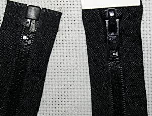 Fermeture éclair à glissière Coloris Noir 60 cm
