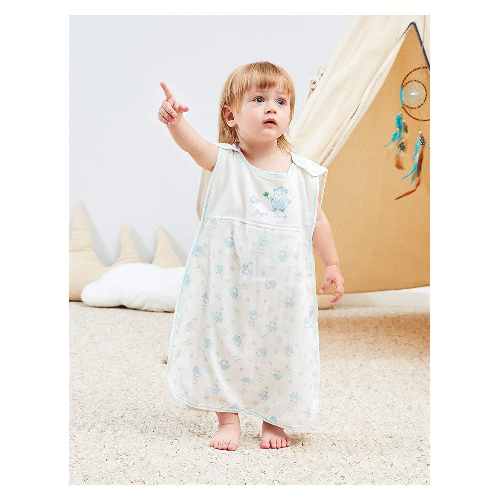 Vandesun – Saco de dormir para bebé (2,5 tog, 2 capas, unisex, para recién nacidos, de 0 a 3 años, diseño de conejo, oveja, coche y oso de dibujos animados (3 estilos) bee Talla:1y