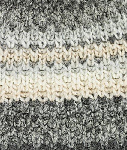 Döll Bohomütze Strick, Bonnet Fille Grau (anthrazit Melange|gray 8810)