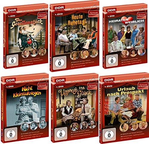 Produktbild Best Of - Defa FERNSEH - SCHWANK EDITION 1973 - 1985 Lustspiel Sammlung 6 DVD Collection DDR TV-ARCHIV Limited Edition