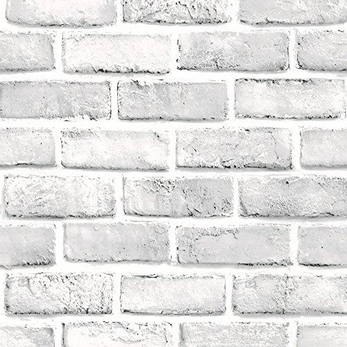 A-Artist 3D Wandpaneele Ziegel Tapete Hintergrund Tv-Decor Wandaufkleber Wallpaper Stereo Wandtattoo Papier Abnehmbare Selbstklebend Schlafzimmer Wohnzimmer Moderne Panel Wandposter Wandsticker
