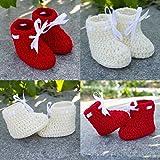Love Crochet Art Crochet Baby Booties fo...
