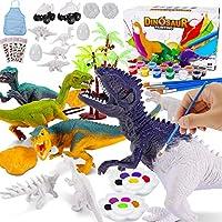 Magicfun Kids Crafts and Arts Set Painting Kit - Dinosaurs Toys Art and Craft