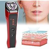 RF-gezichtsmachine, 6-in-1 microstroom gezichtsmassageapparaat, 5 LED-radiofrequentie gezichtsliften, rimpelvermindering en h