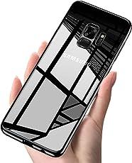 Cover Samsung S9, Infreecs Silicone Caso Galaxy S9 custodia Ultra Sottile Anti-Graffio Bumper Case Posteriore Della Copertura Della Protezione TPU Gel Cover per Samsung Galaxy S9- Nero