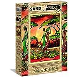 Clementoni - Puzzle de 500 piezas, efecto tacto arena, diseño Family (303311)