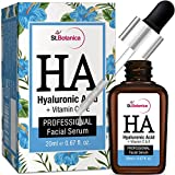 StBotanica Hyaluronic Acid Facial Serum + Vitamin C, E - 20ml - Under