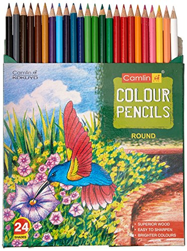 Camlin-4192567-24-Shade-Full-Size-Colour-Pencil-Set-Assorted