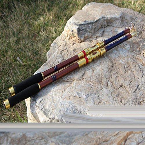 LXR High quality Epoxy resin material fishing rod Hand poles Portable  fishing rod , 2 4 m