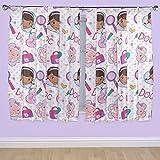 Disney 72-inch Doc McStuffin Hugs Curtains, Multi-Colour