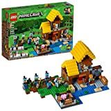 LEGO 21144 Minecraft The Farm Cottage - Kit de construcción (549 Piezas)