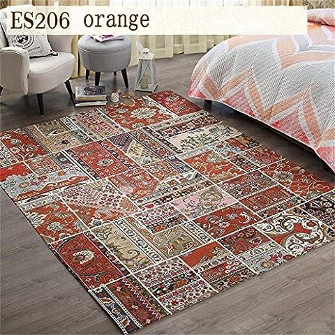 Americano Carpet Pastorale Mediterraneo tappeto del salotto camera da letto comodino Carpet Mats continentale Persia