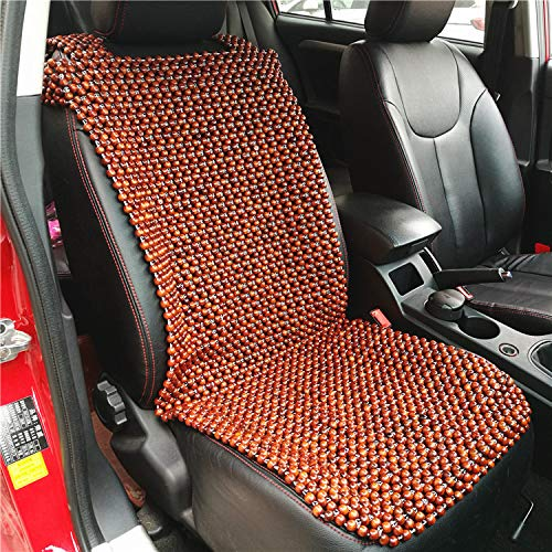YYYL Cuscinetto per Sedile Pallina di Legno Perline di Legno Cuscino per Sedile Cuscino per Sedile Tappetino per Sedile Cuscino per Sedile, Peso: 2,5 kg, 2