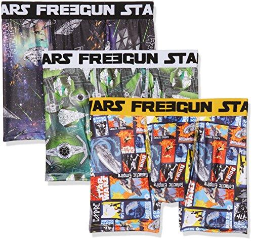 Star Wars Herren Boxershorts Freegun Mehrfarbig (MULTICOLOR A15)
