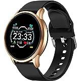 LIGE Smart Watch,Sport Fitness IP68 Impermeabile con Pressione Sanguigna/Frequenza Cardiaca Monitor Orologio da Polso Intelli