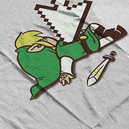 Zelda Deadlink Men's Vest Heather Grey