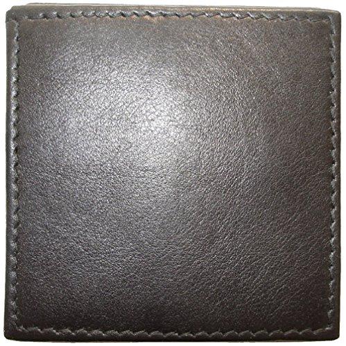 Josephine Osthoff Handtaschen-Manufaktur kleine Leder Geldbörse Cent - schwarz - Wiener Schachtel Handarbeit Geldbeutel Münzbox